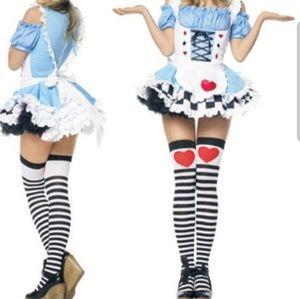 Sexy Alice and Wonderland Costume
